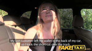 Whore gave shaved pussy away to taxi driver just to get home