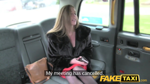 British MILF gave titsfuck and enjoyed hot sex in cab