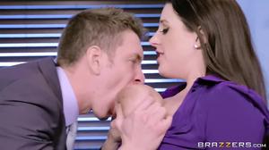 Slutty Australian MILF wildly penetrated by boss