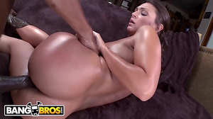 Huge black monster of a dick bangs the sexy PAWG