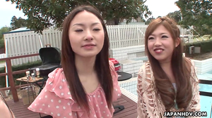 Competition with gorgeous Asian girls who are pervy